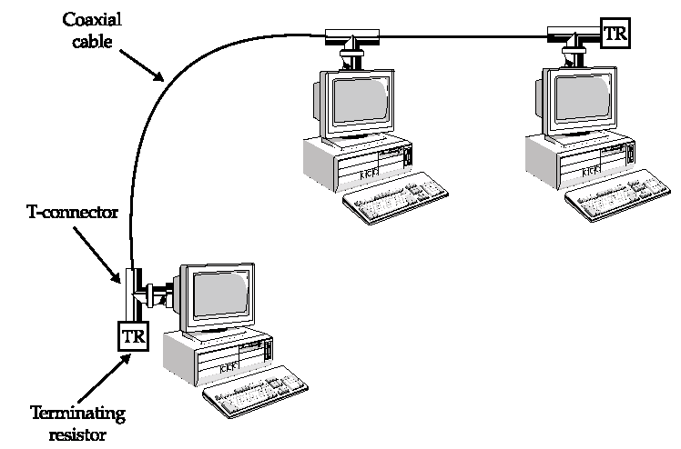 LAN Bus Topology