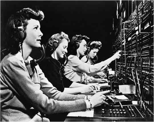 Old Telephony Switchboard