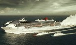 Cruise Ship with Speedboats